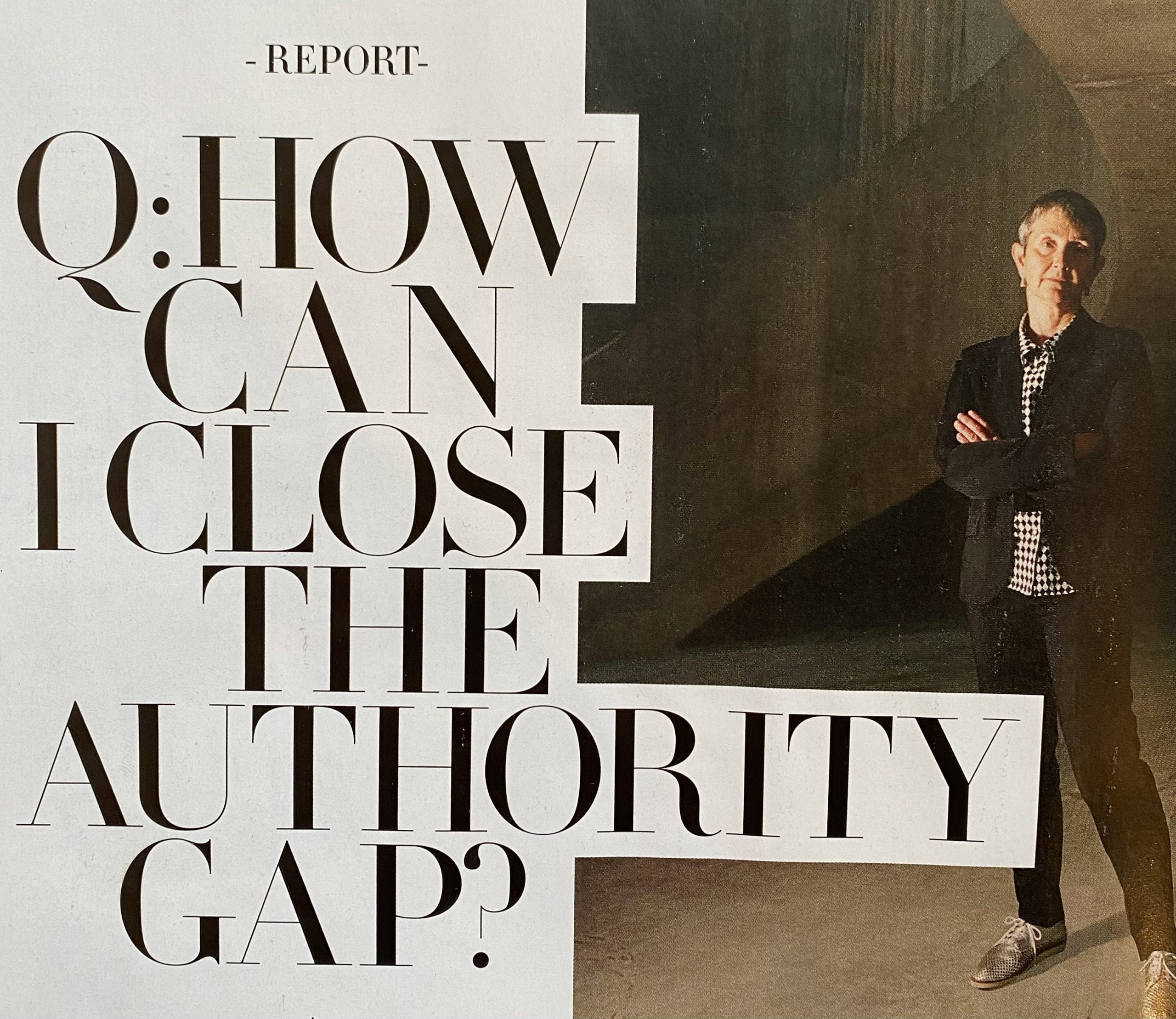 How can I close the authority gap?